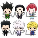 Chohokin Mascot – Hunter x Hunter (set of 6)