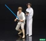 Kotobukya ArtFX+ Star Wars – Luke Skywalker & Princess Leia