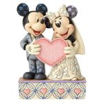 Enesco Disney Traditions Wedding Two Souls, One Heart – Mickey and Minnie Mouse