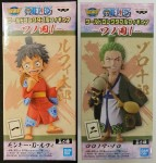 Banpresto WCF One Piece Wanokuni Arc Vol 01 – Luffy & Zoro