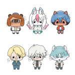 Chokorin Mascot – BNA Brand New Animal (Set of 6)