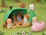 Epoch Families KO 65 – Baby Hedgehog Hideout Set