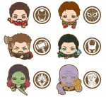 Ensky – Avengers Infinity War Rubber Clip Box A (box of 6)