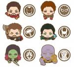 Ensky – Avengers Infinity War Rubber Clip Box A (box of 6)