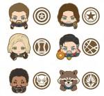 Ensky – Avengers Infinity War Rubber Clip Box B (box of 6)
