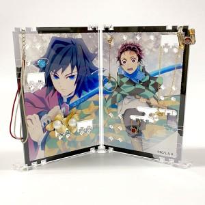 Takara Tomy Arts Kimetsu no Yaiba Accessory Stand – Tanjiro & Giyu