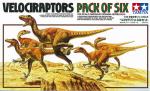 Tamiya Dinosaurs 1/35 – Velociraptors Pack of Six