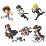WCF One Piece  History Relay 20th – Volume 1 (set of 6)
