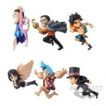 WCF One Piece  History Relay 20th – Volume 2 (set of 6)