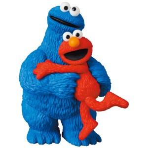Medicom Ultra Detail Figure No.582 Sesame Street – Elmo and Cookie Monster