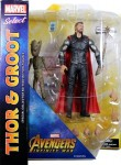 Marvel Select – Thor and Groot