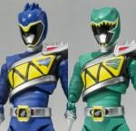 SHFiguarts – Kyoryu Blue & Kyoryu Green