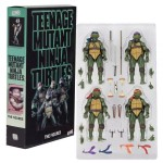 Playmates – TMNT Movie 1990 (set of 4) *openbox, 90% condition