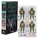 Playmates – TMNT Movie 1990 (set of 4) *openbox, 90% condition