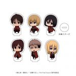 A3 Acrylic Petite Stand – Attack on Titan 02 / Dark ver. Mini Chara
