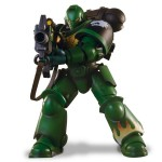 Warhammer 40K – Salamanders Intercessor With Bolt Riffle