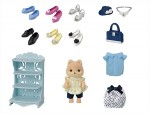 Epoch Sylvanian Families Fashion Coordinate on Street Set – Fashionable Shoes Collection
