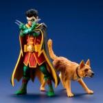 Kotobukiya ArtFX+ DC Universe Super Sons – Robin & Bat Hound