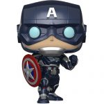 Funko POP Marvel`s Avengers Game – Captain America