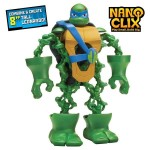 Playmates Nano Clix Rise of The TMNT – Leonardo