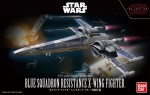 Bandai Star Wars 1/72 – Blue Squadron Resistance X Wing Fighter