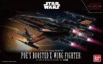 Bandai Star Wars 1/72 – Poe`s Boosted X Wing Fighter