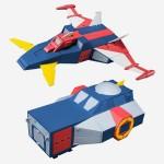 Super Minipla – Shuttle & New Shuttle Set