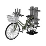 Tomytec 1/12 Little Armory LM007 – Bicycle For School Attendance (Olive Drab)