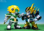 Chogokin Iron Leaguer – Mach Windy & Gold Foot