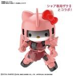 SDCS – Hello Kitty x Zaku II Red