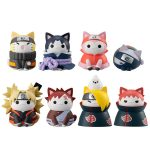 Naruto Nyaruto! – Battle with Akatsuki (box of 8) w/ gift