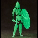 KT Project KT-033 Takeya Style Fish Helmet Gladiator Secutor (GITD)