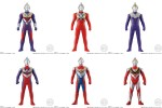 Sofubi Hero – Ultraman Trigger & Ultra Heroes (box of 8)