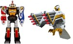 Bandai DX Legacy – Ninja Megazord + Falconzord *openbox, 90% condition