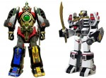 Bandai DX Legacy – Thunder Megazord + Tigerzord *openbox, 90% condition