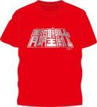 Brujuta – Saint Seiya Cloth Metal T-Shirt (Red)