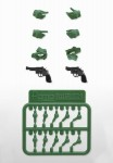 Max Factory Figma Little Armory – Tactical Glove 2 Revolver Set (Green)