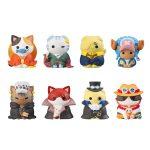 Mega Cat Project NyanPieceNyan – Im Gonna Be King Of Paw-rates! Volume 1 (set of 8) w/ gift
