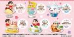 Re-ment – Crayon Shin-chan Ora to Manpuku Sweets (set of 6)